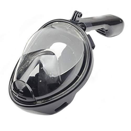 Lorenlli Máscaras de Buceo Profesionales Goggle Full Dry Silicone Tube Set de Hombres Mujeres Buceo Natación Equipo de Deportes acuáticos