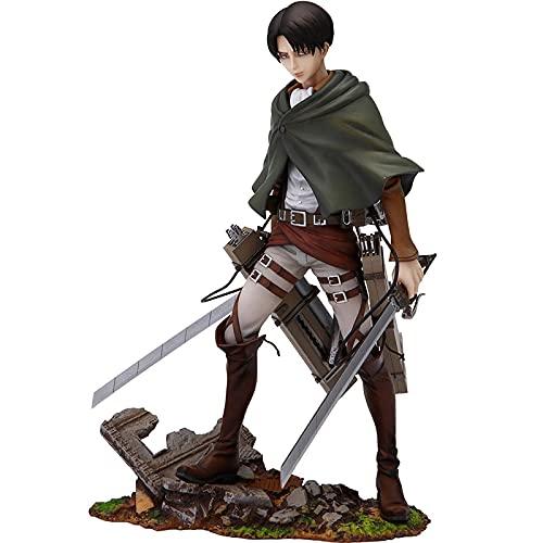ChenMi Attack On Titanlevi Ver.PVC Action Figure Anime Giapponese Levi·Ackerman Figure Model Toys Doll Gift 20Cm