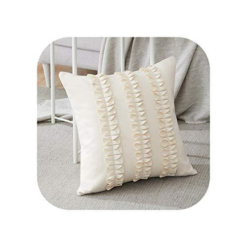 My cat - Funda de cojín de lana decorativa de lujo con lazo para sofá cama, 6 colores, 40 x 40 cm