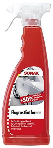 SONAX FlugrostEntferner (750 ml) entfernt aggressive Flugrost-Rückstände sowie Industriestaub von allen Lacken | Art-Nr. 05134000