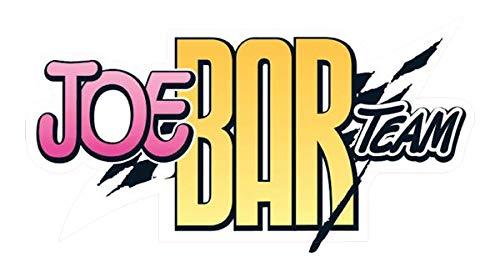 Stickers rétro réfléchissant pour Casque Joe Bar Team