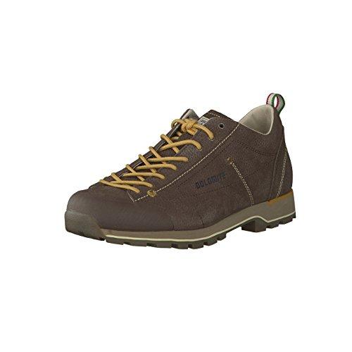 Dolomite Zapato, Chaussure Cinquantaquattro Low LT Mixte, Brun, 44 EU
