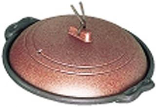 MIN(マイン ) アルミ庵陶板鍋素焼き茶 18cm 深型 M10-466