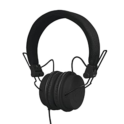 Reloop RHP-6 - DJ and lifestyle headphones with tuned sound, lightweight design and secure fit (black) by Reloop