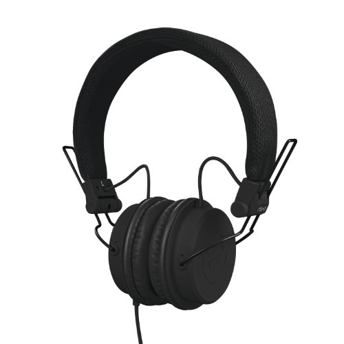 Reloop RHP-6 – DJ- und Lifestyle-Kopfhörer mit abgestimmten Sound, leichte Bauweise und sichere Passform, für Smartphones (Apple iPhone, Android) Tablets, iPods, Mac und PC, (schwarz)