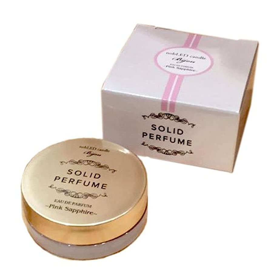 更新するボイラー取り戻すnobLED candle Bijou ソリッドパフューム ピンクサファイア Pink Sapphire SOLIDPERFUME ノーブレッド キャンドル ビジュー オードパルファム EAU DE PARFUM BODY CARE Series