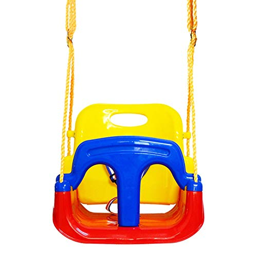Dfghbn Swing Kids Jaketen - Juego de Columpios for Columpios con Asiento for niños pequeños 3 en 1 for Columpios for Juegos Infantiles, bebés Perchas Columpio al Aire Libre