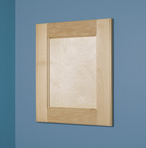 14×18 Shaker Style Recessed Medicine Cabinet by Fox Hollow Furnishings (Large, Unfinished)
