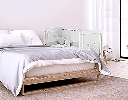 Cuna Colecho 120 x 60 cm Star Ibaby. 8 posiciones de Somier para adaptarla a cualquier cama.