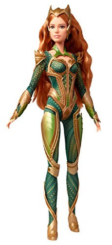 Barbie Doll Justice League Mera, Multicolor (Mattel DYX58