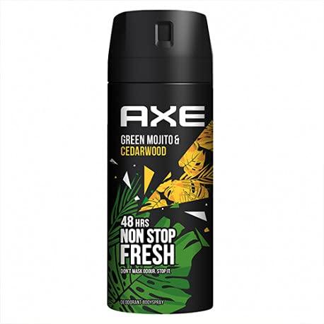 Axe Axe Wild - Desodorante En Aerosol (Mojito Y Madera) 150 Ml 130 g
