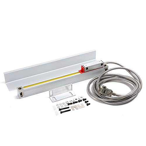 KKmoon Gitterlineal Elektronische Lineale Optisches Lineal Linearmaßstab Fräsmaschine Drehmaschine Zubehör