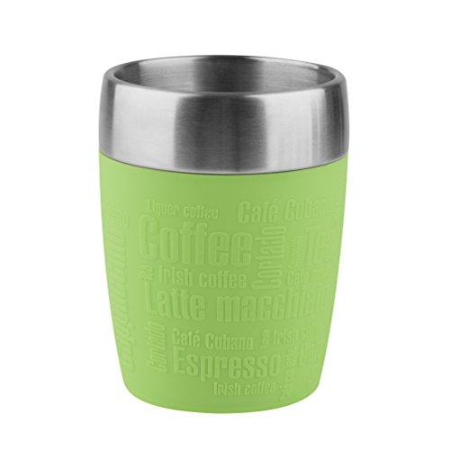 Tefal K3080314 - Taza térmica de viaje, acero inoxidable, 200 ml, color verde