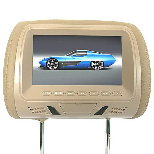 XZANTE Display da 7 Pollici per Auto, Lettore Mp5, Poggiatesta, Supporto Monitor, Ingresso Av/USB / / FM/Altoparlante