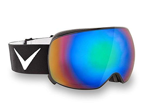 Black Crevice Magnetskibrille Skibrille, Black/Green, M (54-57)