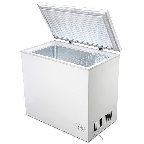 Kismile 7.0 Cubic Feet Chest Freezer