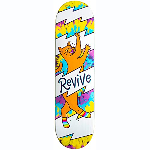 ReVive Skateboard-Brett / Deck, bequem, Katze