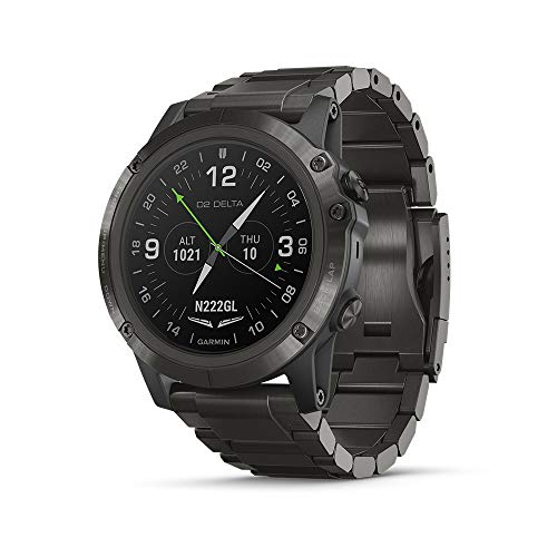 Buy Bargain Garmin D2 Delta PX, GPS Pilot Watch with Pulse Ox Sensor, Includes Smartwatch Features, ...