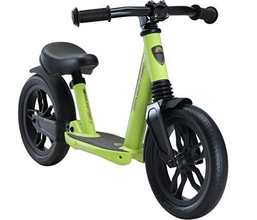 BIKESTAR Vollgefedertes Alu Kinder Laufrad Rad für Jungen und Mädchen ab 2 - 3 Jahre | 10 Zoll Lauflernrad Fully | Risikofrei Testen | Grün