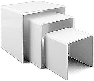 Adorox Top Quality White Acrylic Display Riser (1 set)