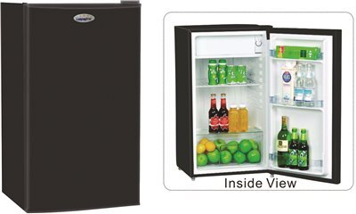 Hardware Express 284040 Lodging Star 3.6 Cu. ft. Refrigerator44; Black