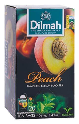 Dilmah Perzik Vruchtenthee, 20 Stuk, 20 Units