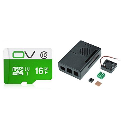 BliliDIY K-0163 3D Printer Control 16G Tf Card With Housing Kit For Octoprint Raspberry Pi 3B/2B/B+/A+
