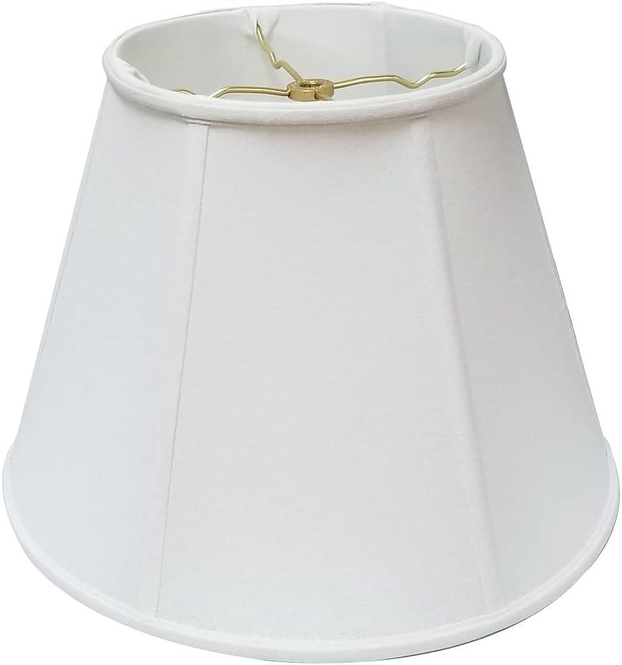 Royal Designs Deep Empire Linen White 11 x 2021 22 Elegant 16 Shade Lamp