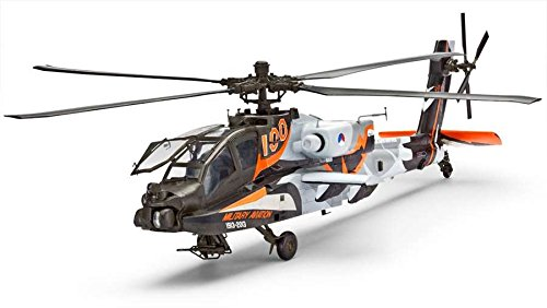 Revell - Maqueta AH-64D Longbow Apache 100 Years Military Aviation, Escala 1:48 (04896)