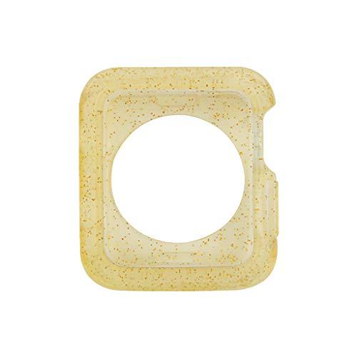 William-Lee 7 kleuren Horloge Case voor IWatch Series 4 Cover Herfstbestendigheid Zachte TPU Siliconen Case Shell Frame voor Apple Horloge 44mm 40mm