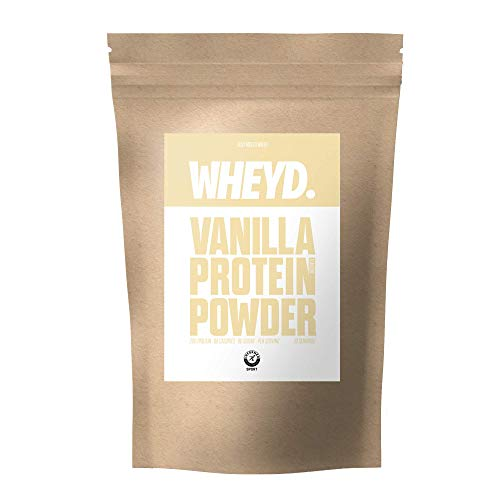 WHEYD Protein Powder - Grass Fed Hydrolysed Whey Isolate - Vanilla (720g, 30 x 24g Servings, Low Lactose)