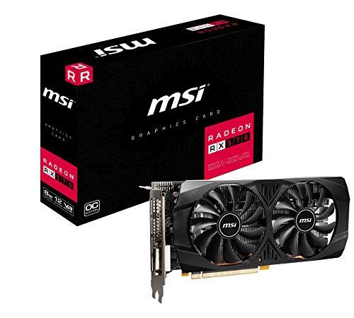 MSI Radeon RX 570 8GT OC Graphics Card, PCI-E x16, VR Ready