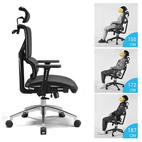 Ergonomische bureaustoel voor gaming, draaistoel, techniek, opvouwbaar, voor gaming, meubilair