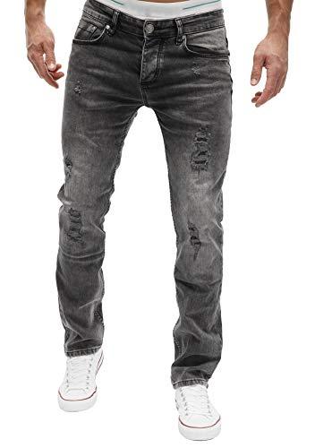MERISH Jeans Herren Slim Fit Jeanshose Stretch...