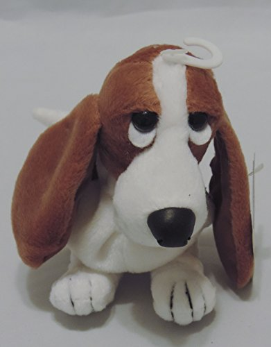 Hush Puppies Bean Bags Beanie Toy Dog #24381 Logo Basset