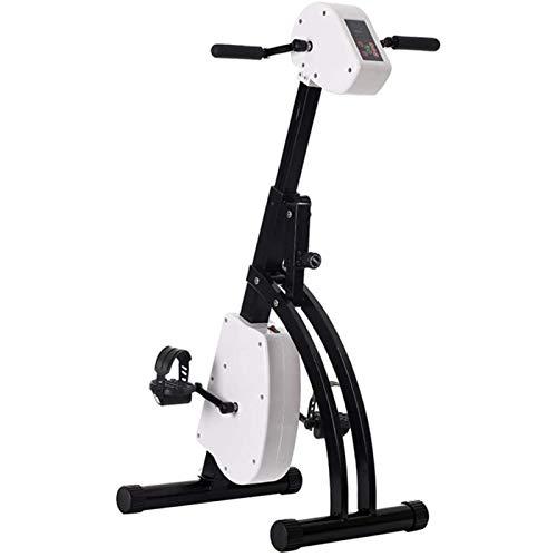 CNRRT Fisioterapia Elettronica Intelligente e Ricreazione Pieghevole Pedalo per Biciclette Aerobica elettrica - Promozione della circolazione sanguigna, Migliorare Il Muscolo