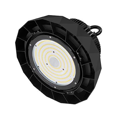 LED Industrieleuchte UFO 200W IP65 145Lm/W SMG+LIFUD Driver LED Hallentiefstrahler Industrieanlage, Lagerhalle, Werkshalle (Kaltes Weiß 6000K)