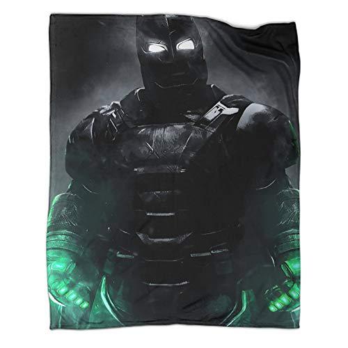 Xaviera Doherty Batman, The Dark Knight Gotham Movie Manta de forro polar súper suave, 180 x 230 cm, caja de regalo
