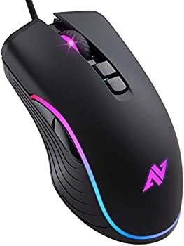 Abkoncore AM6 Wired Ergonomic USB Gaming Mouse