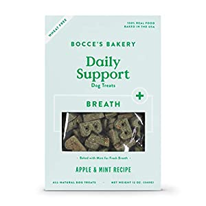 Bocce's Bakery – The Daily Support Menu: Functional, Wheat-Free Dog Biscuits