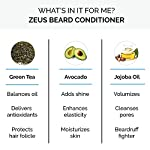 ZEUS 8oz Beard Conditioner, Sulfate-Free Beard Softener, USA MADE, Moisturizes, Softens, Tames, Aides Red & Flaky Skin… 4