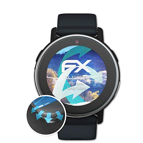 atFoliX Schutzfolie kompatibel mit Acer Leap Ware Folie, ultraklare & Flexible FX Bildschirmschutzfolie (3X)