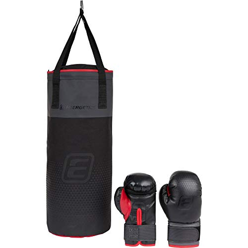 ENERGETICS Box-Sack 225506 Box-Sack Black/ Grey/ Red One Size, Einheitsgröße