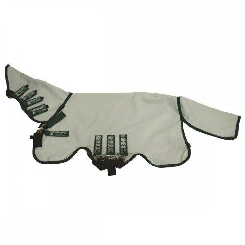 Horseware Rambo Sweetitch Hoody Ekzemerdecke mit Fliegenmaske Ice Green/Green 115-165 (145)