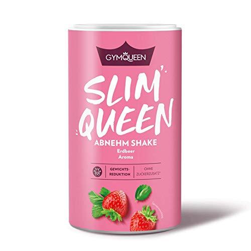 GymQueen Slim Queen Abnehm Shake 420g, Leckerer Diät-Shake zum einfachen Abnehmen, Mahlzeitersatz...