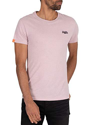 Superdry Heren Vintage EMB T-shirt, Roze