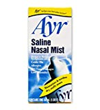 Ayr Saline Nasal Mist, 1.69 Fl Oz (Pack of 6)