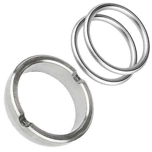 Caltric Exhaust Muffler Gasket Seal Compatible With Polaris Rzr Xp 900...