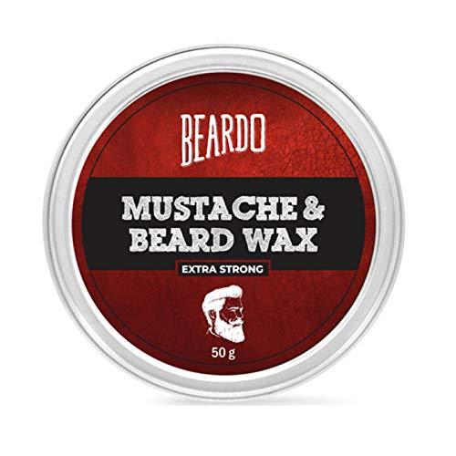 Glamorous Hub Beardo Cera para barba y bigote - Extra fuerte