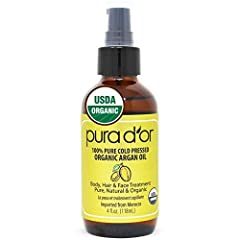 DAILY PROTECTION: Common toxins such as pollution or sun exposure can cause further damage to skin and hair. Antioxidants from Argan Oil adds an extra layer of protection against environmental factors. SALON-LIKE TREATMENT: Argan Oil for hair locks i...